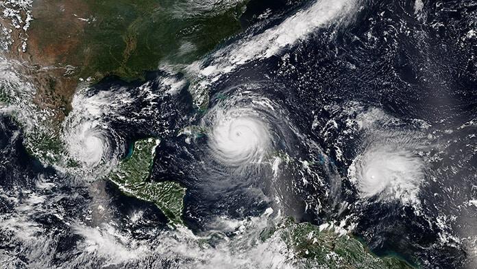 Hurricane Katia, Irma and Jose