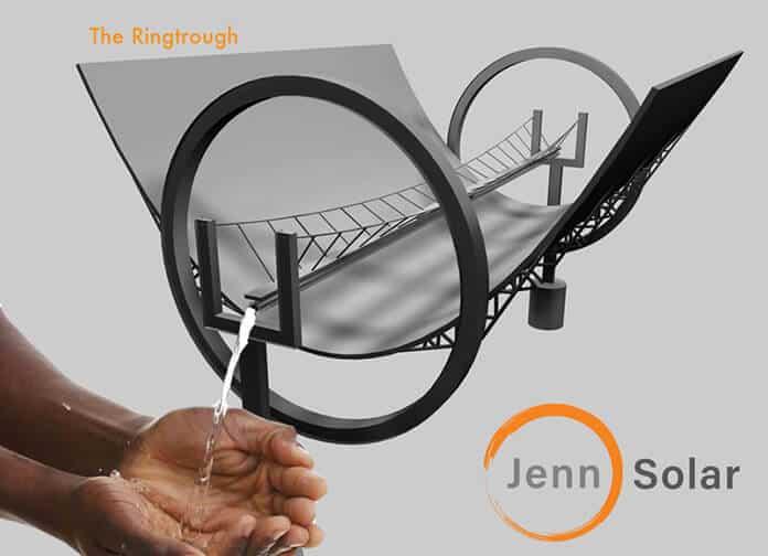 JennSolar's Ringtrough – The Next Generation of Solar Parabolic Trough