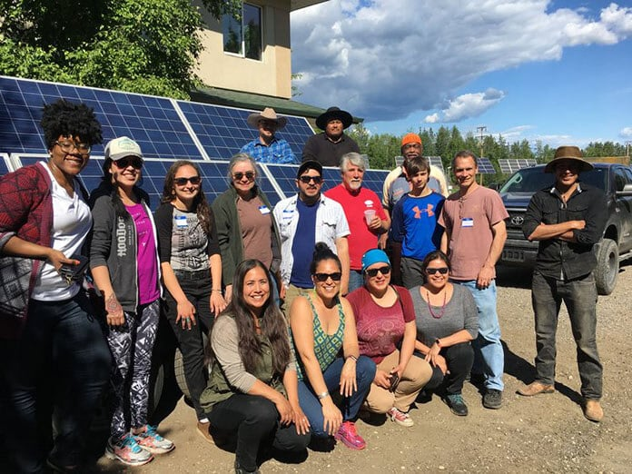 The Native Movement Team Helping Speed up the Transition to a Regenerative Economy by Deploying Solar