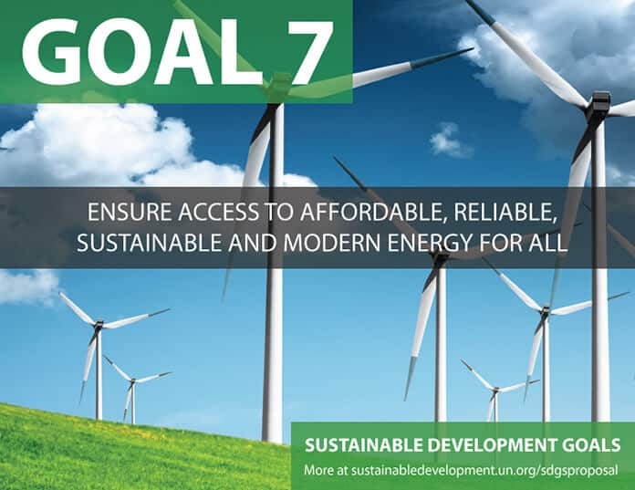 UN's Sustainable Development Goal 7