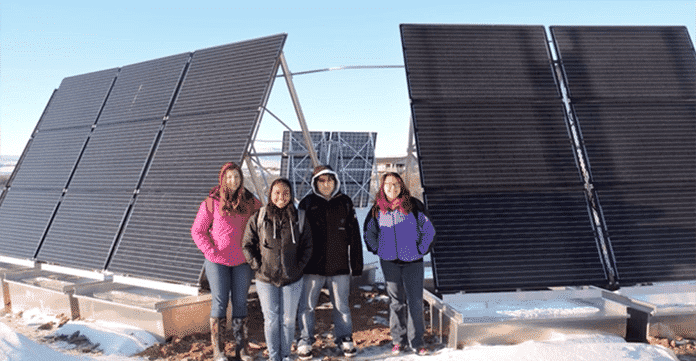 Buckland's 10.53-kW Solar System Used to Power the Village's New Water Plant
