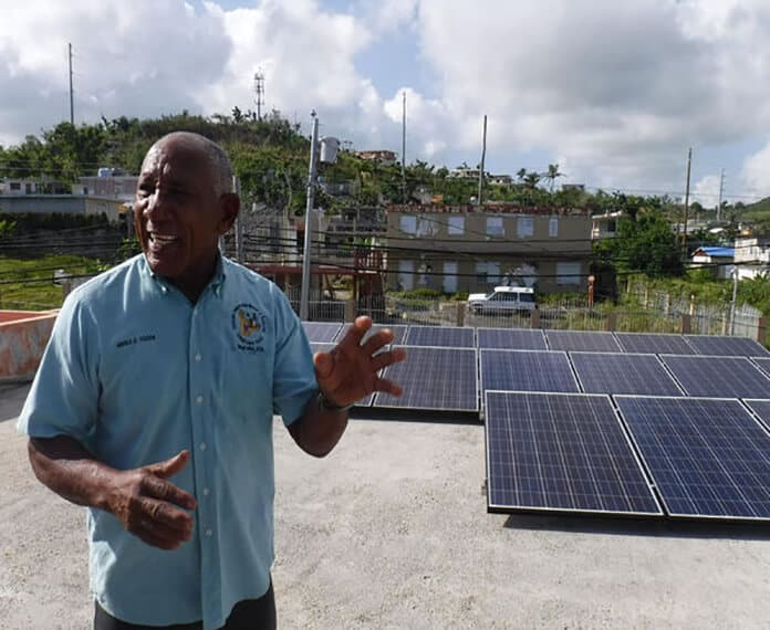 Resilient Power Puerto Rico (RPPR) Solar PV Rooftop