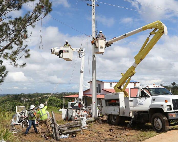 U.S. Army Engineers Restore Majority of Puerto Rico Power Grid