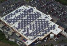 Solar Panels on Caguas, Puerto Rico Walmart