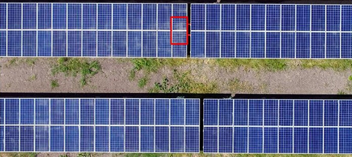 Unmanned Drones for Solar Panels performance Monitoring - Dust Detection