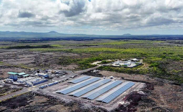 Hybrid Power Plant for Galapagos Island's Sustainable Development