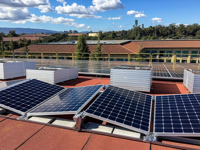 Stanford University Teamed up With SunPower For a Rooftop Solar Project