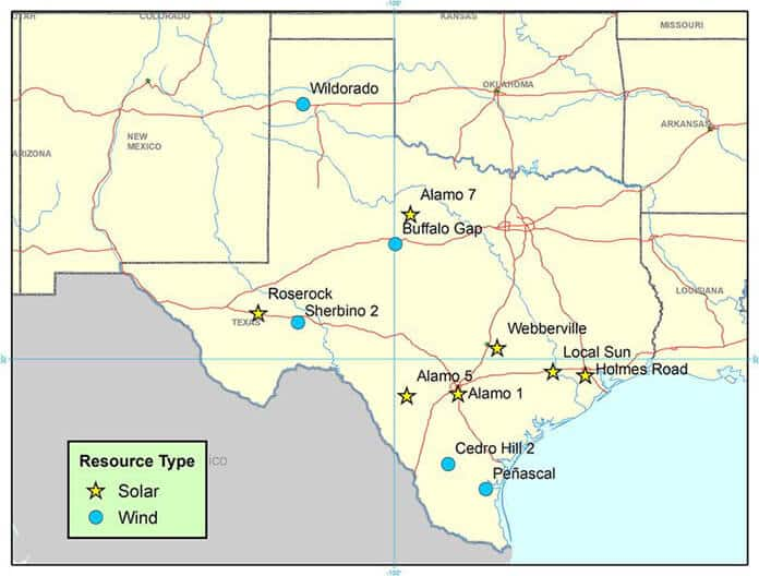 12 Sites Selected for Texas Solar and Wind Complementarity Study