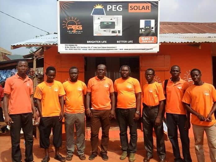 PEG Ghana Team in Africa