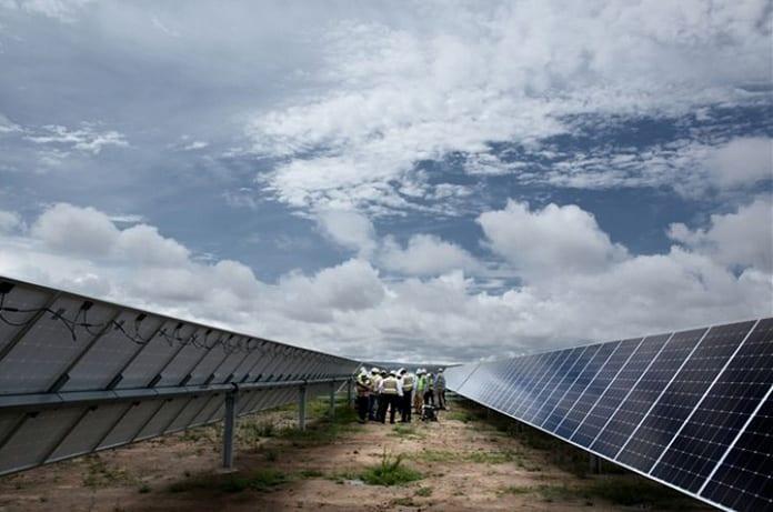 The Núñez De Balboa Solar Plant Building in Spain's Extremadura Region