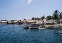 Boats at the Dock at Palawan, Philippines