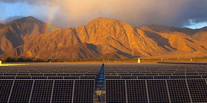 The Borrego Springs Microgrid Can Connect to a Third-Party Solar Facility to Power the Town