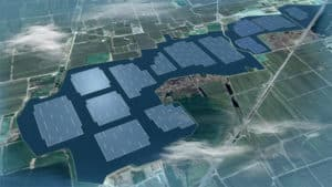 Largest Floating Solar Farm on a Mining Site in Anhui Province, China