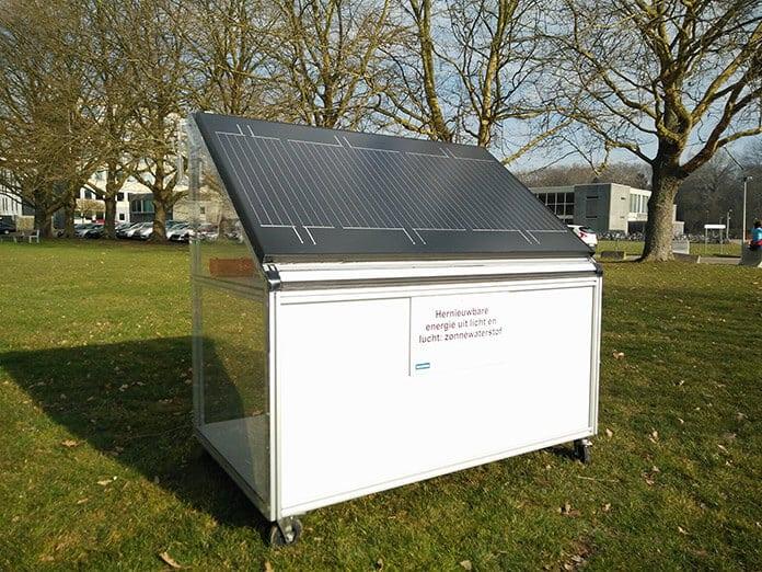 KU Leuven's Hydrogen Solar Panel