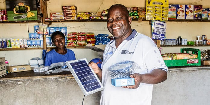Sweden's SIDA Providing Off-Grid Solar Systems for Africans