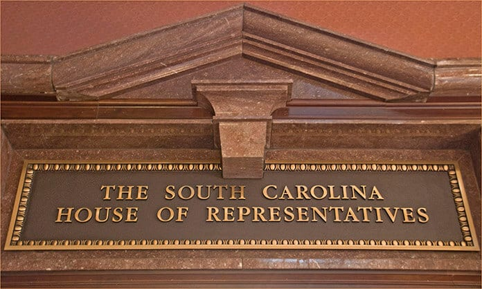The South Carolina House of Representatives