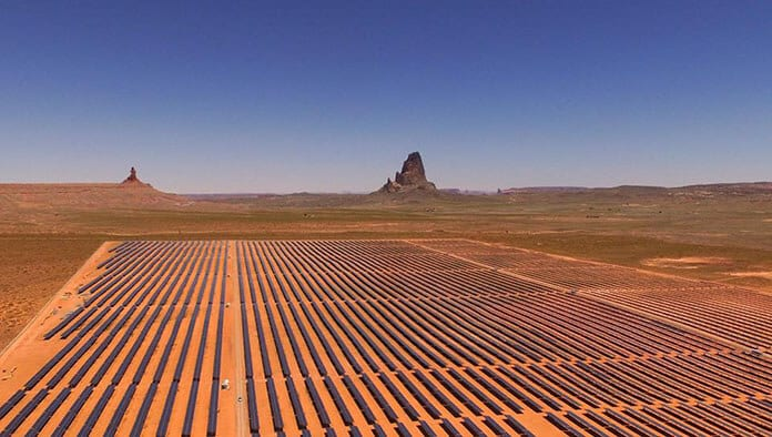 The Kayenta Solar Power Farm