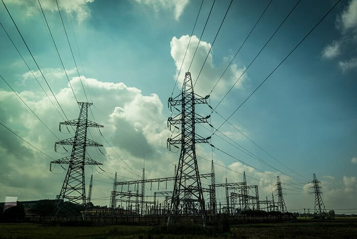 Electricity Pylons in Vietnam