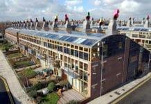BedZED Ecovillage in England
