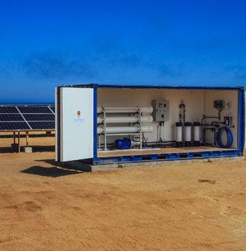 "Solar Desalination System to ""Green"" Drought-Stricken Namibia"