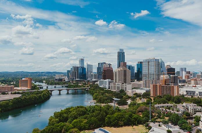 City Buildings in Austin, Texas