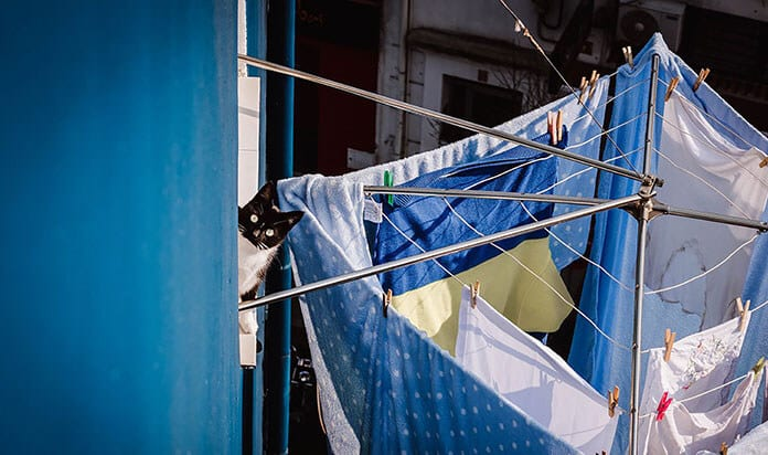 Use Laundry Racks Instead of a Dryer to Lower Electricity Bill