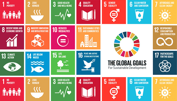 17 UN Global Goals for Sustainable Development
