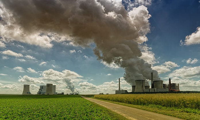 Air Pollution and Carbon Emissions from Power Plant