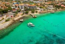 Aerial View of Bonaire—Divers Paradise