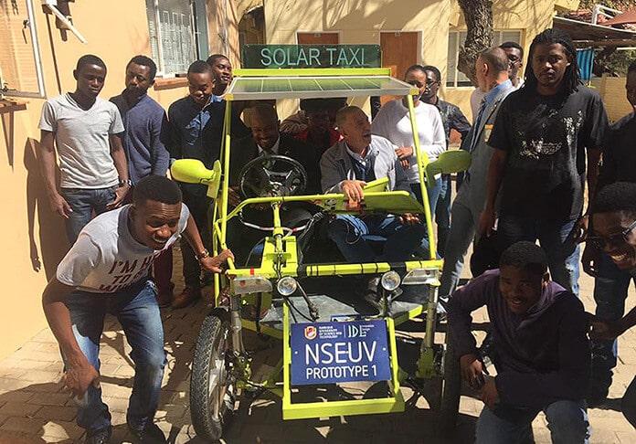 Namibia Solar Electric Utility Vehicle Prototype #1
