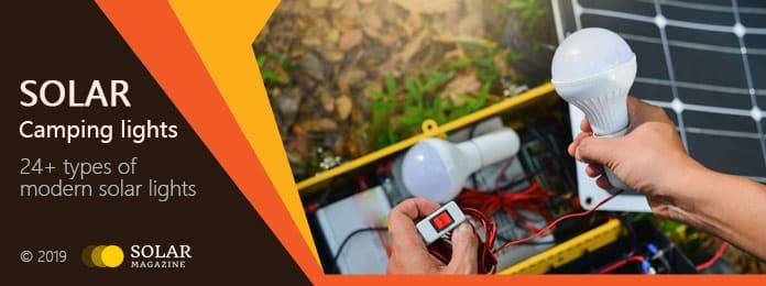 Solar Camping Lights Profile Banner