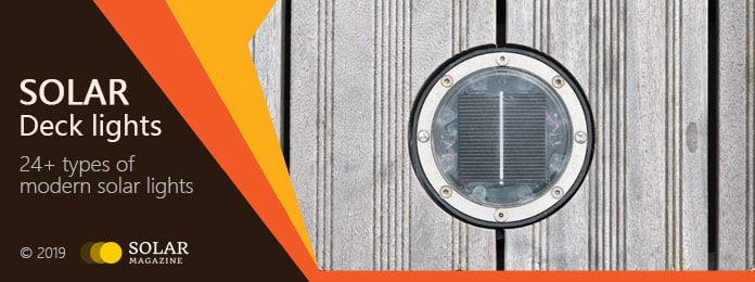 Solar Deck Lights Profile Banner