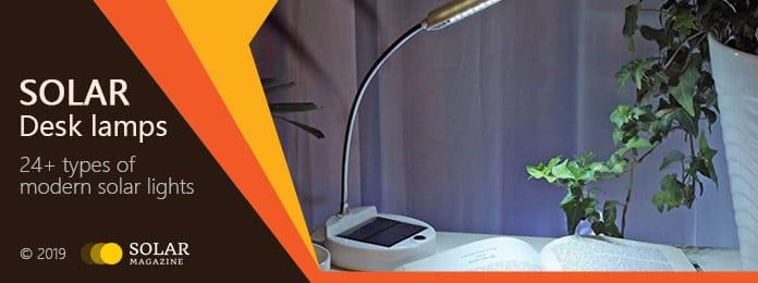 Solar Desk Lamps Profile Banner