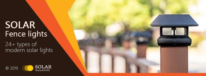 Solar Fence Lights Profile Banner