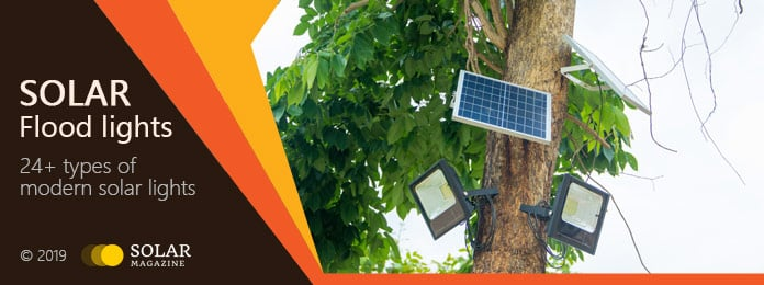 Solar Flood Lights Profile Banner