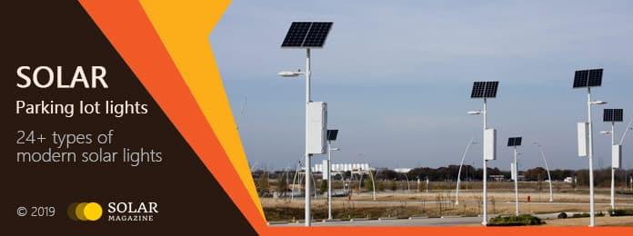 Solar Parking Lot Lights Profile Banner