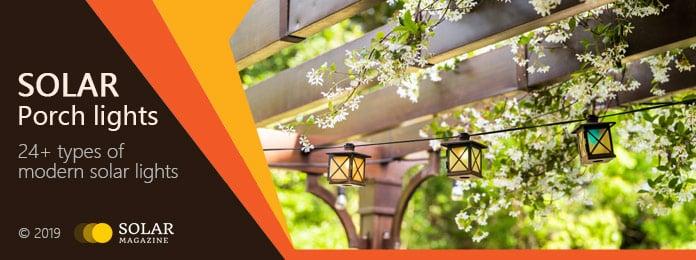 Solar Porch Lights Profile Banner