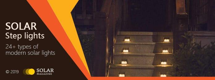 Solar Step Lights Profile Banner