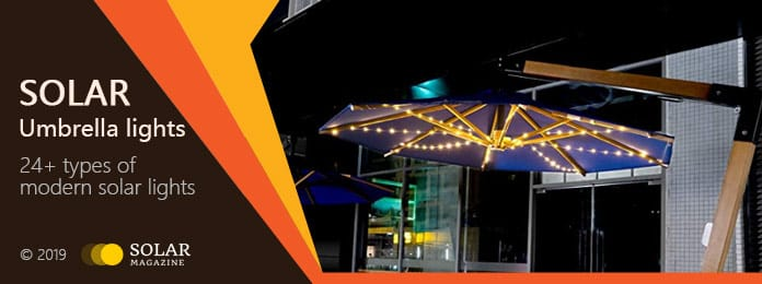 Solar Umbrella Lights Profile Banner