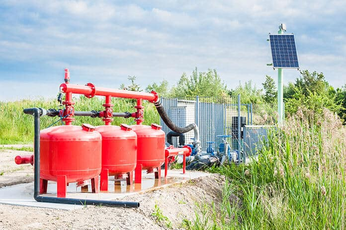 Solar-Powered Water Pumping Control Unit for Agriculture