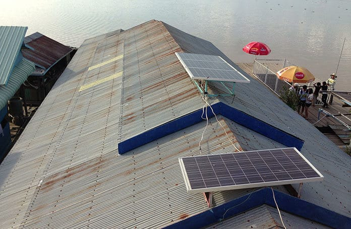 Residential Solar Roof in Siem Reap Province, Cambodia