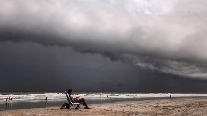 Bahamas' Beach Just Before Hurricane Dorian