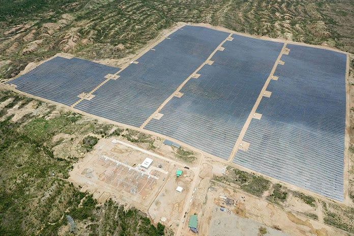 Phase 1 of Minbu 220-MWdc Solar Power Plant