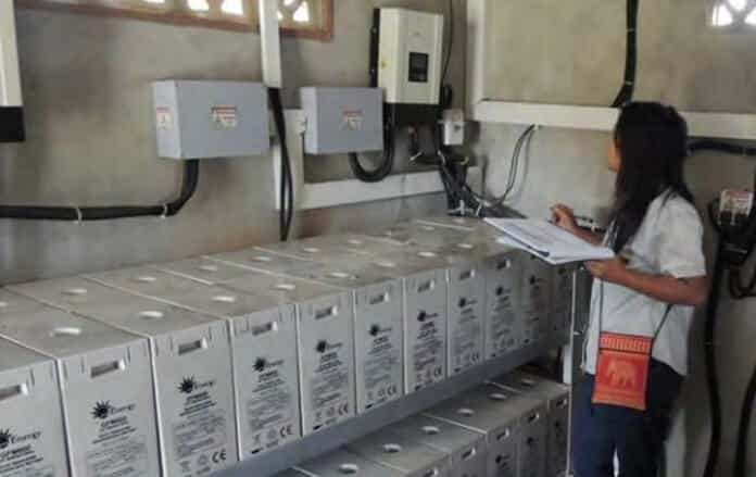 Battery-Based Energy Storage Systems Used in Myanmar's Solar Mini-Grids