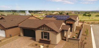 Demonstration Home in Prescott Where Mandalay Homes Tested Solar with Residential Batteries