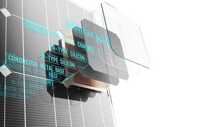 Ilustración 3D DE La Estructura DE Un Panel Solar.