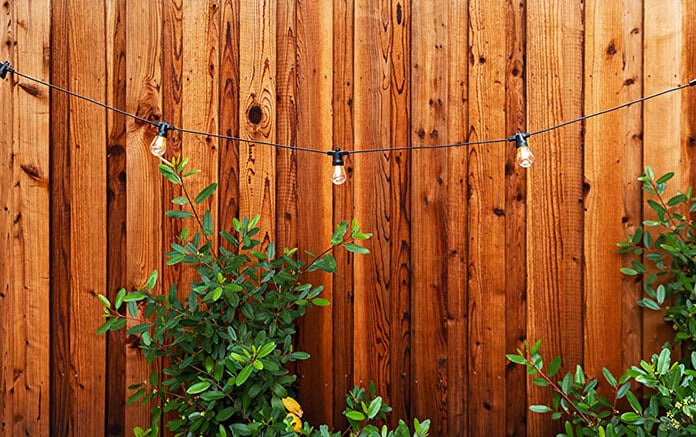 Brightech Led String Lights With Clips and Stake Integrated Panel