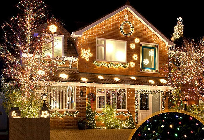Starry Solar String Lights With 8 Optional Patterns and IP65 Waterproof
