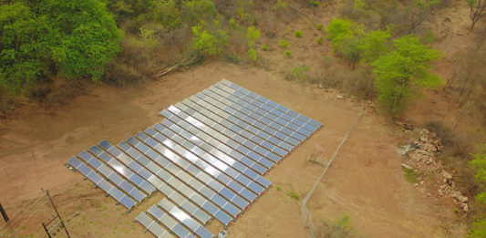 Ground Mounted Solar Mini-Grids in Rural Africa