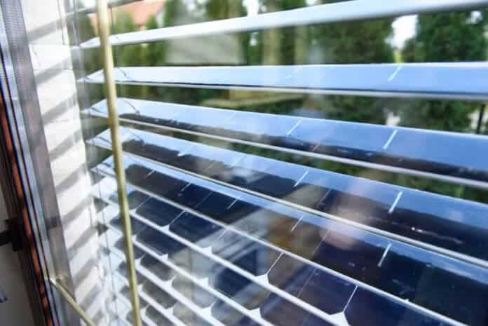 Easy-To-Implement Solar Window: Solar Panel Blinds by SolarGaps